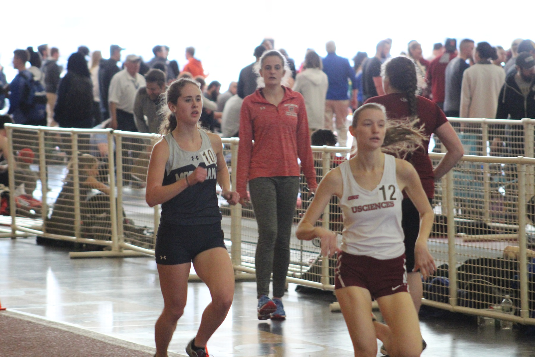 Sauers and Houghton Finish 1-2 in the Mile; Numerous Collegiate Bests Set as Women's Track and Field Closes Winter Season