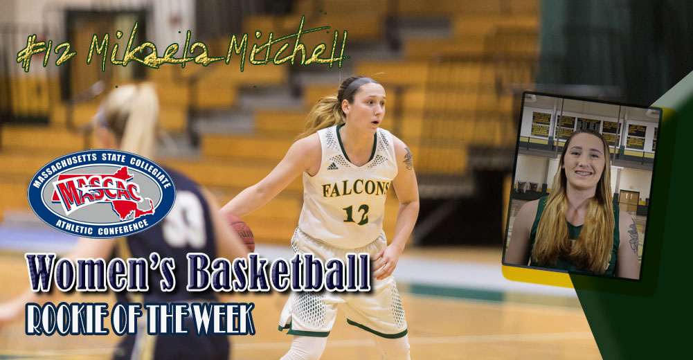 Mitchell Named MASCAC Women's Basketball Rookie Of The Week