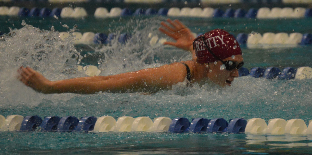 Trinity Leads After Day One of SCAC Women's Swimming & Diving Championship