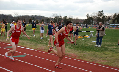 CUA Track and Field Goes to Muhlenberg Invitational