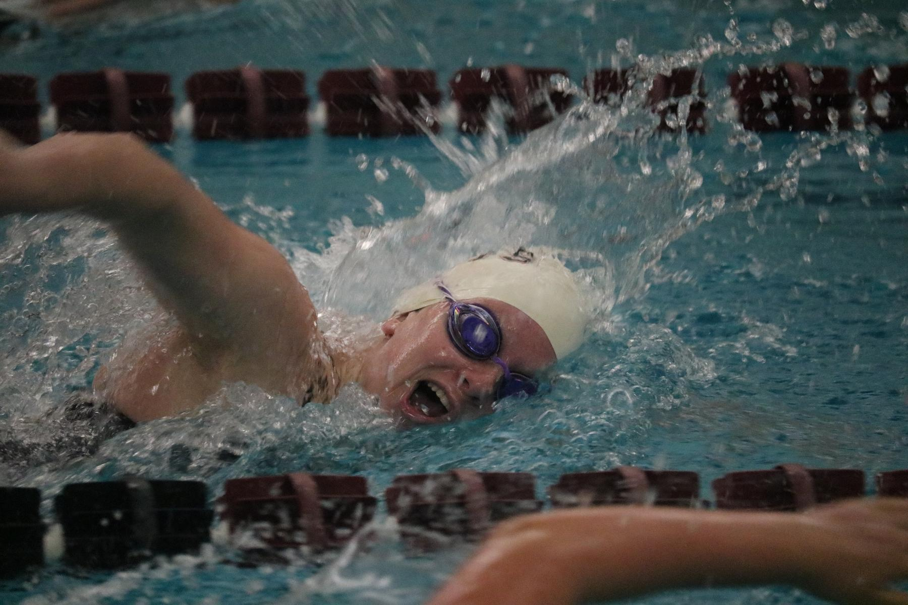 Swimmers compete in first two days of Carthage Classic