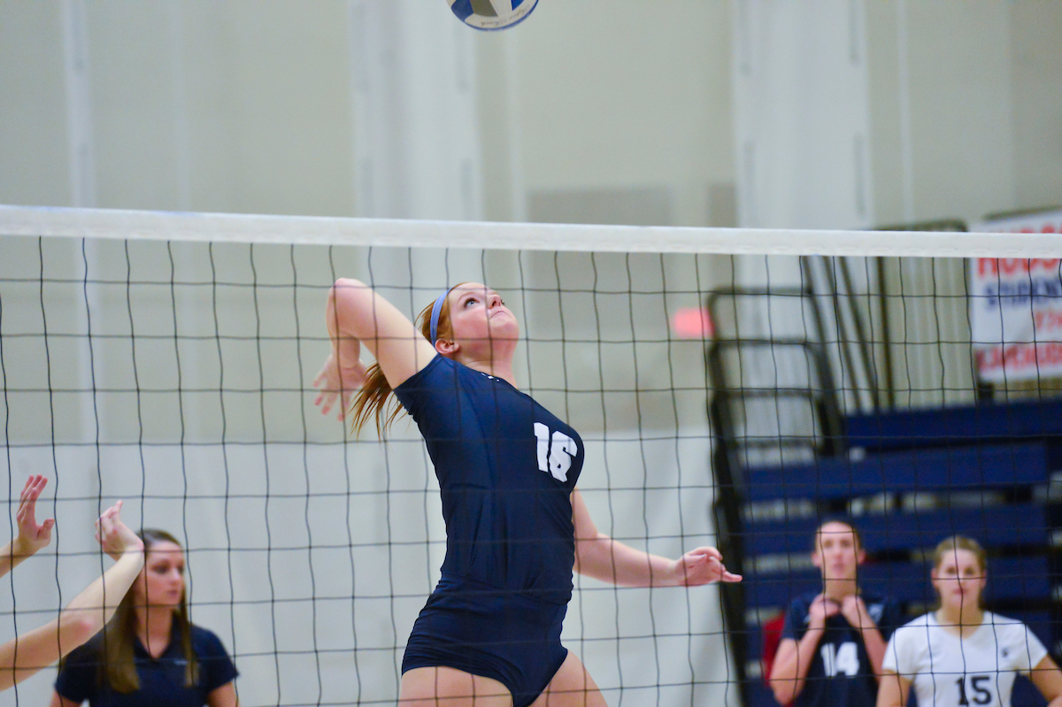 Women's Volleyball Wins Twice; Lions Blank Misericordia, SUNY Canton