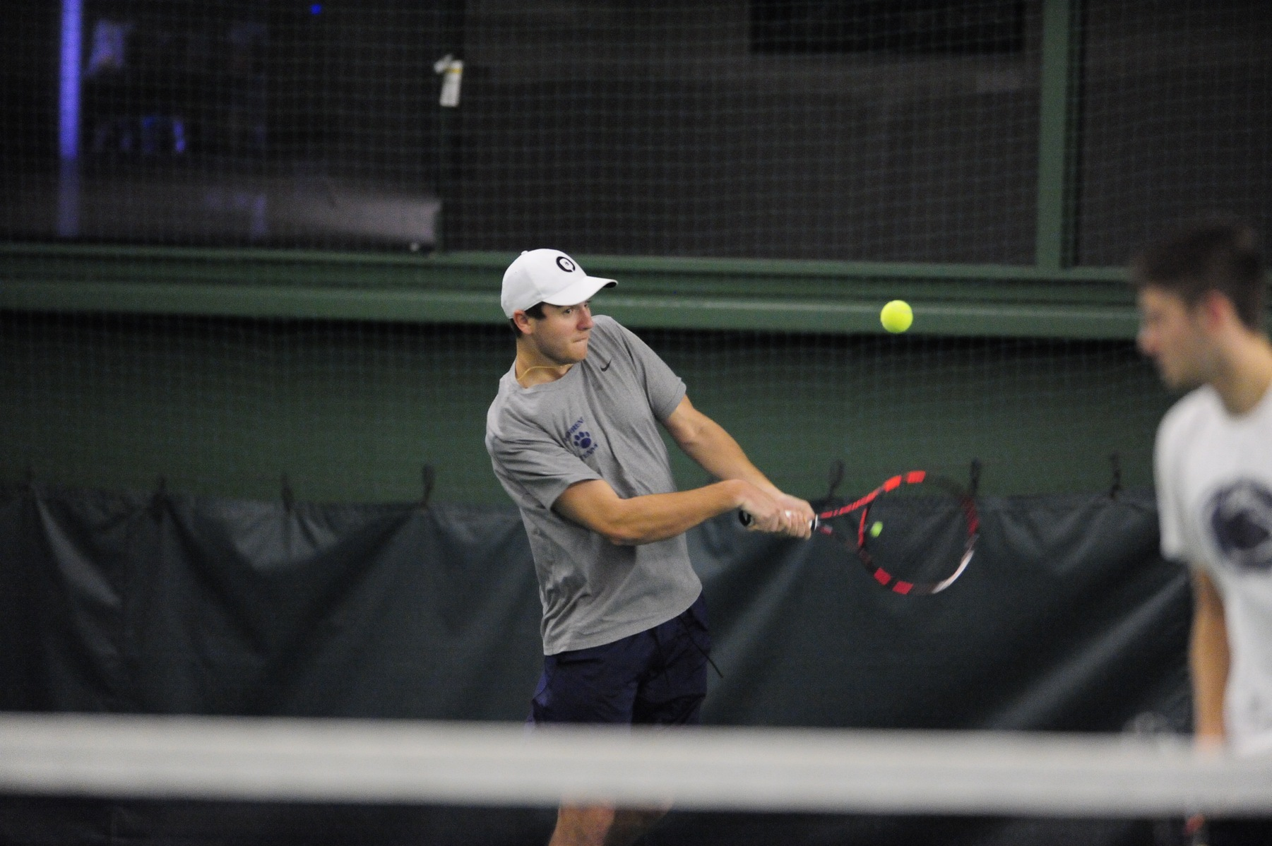 Men's Tennis Sweeps Penn State Harrisburg