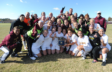 Sandone brings Salisbury fourth CAC title with heads-up goal; SU tops St. Mary's, 1-0, in overtime