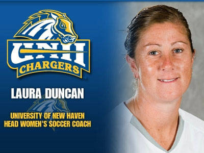 Former Blue Devil Laura Duncan Named Head Women's Soccer Coach at New Haven
