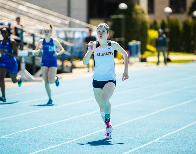 Track and Field Wraps Up Season at ECAC Championships