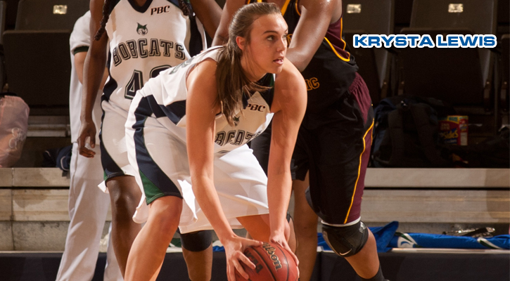 Lewis' Double-Double Leads Bobcats Past Trojans