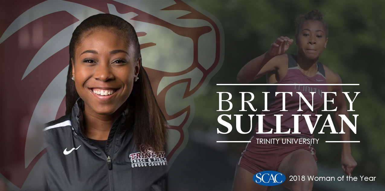 Trinity's Sullivan Selected SCAC Woman of the Year