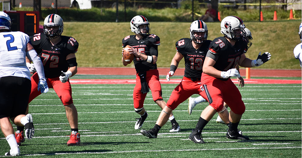 Defense Forced Four Turnovers as Tartans Down Thomas More 37-17