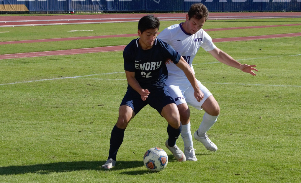 Emory Men's Soccer Plays to Scoreless Draw with NYU