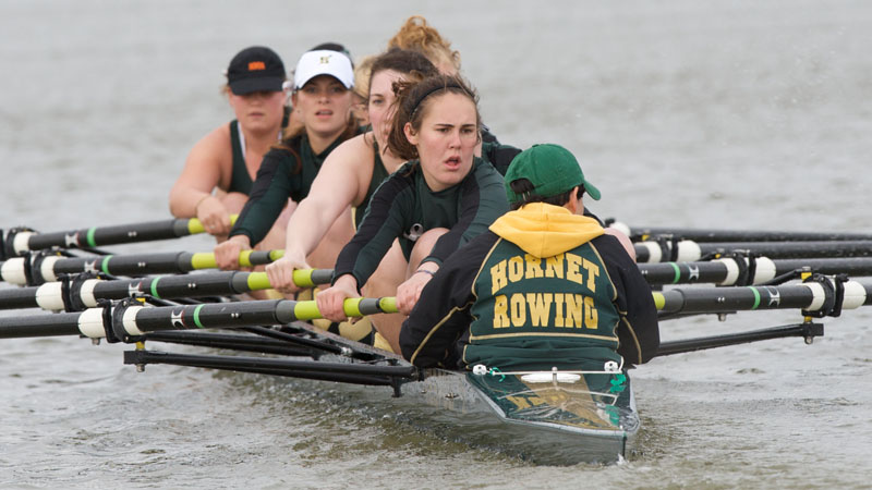 ROWING WRAPS UP FIRST DAY OF THE LAKE NATOMA INVITATIONAL