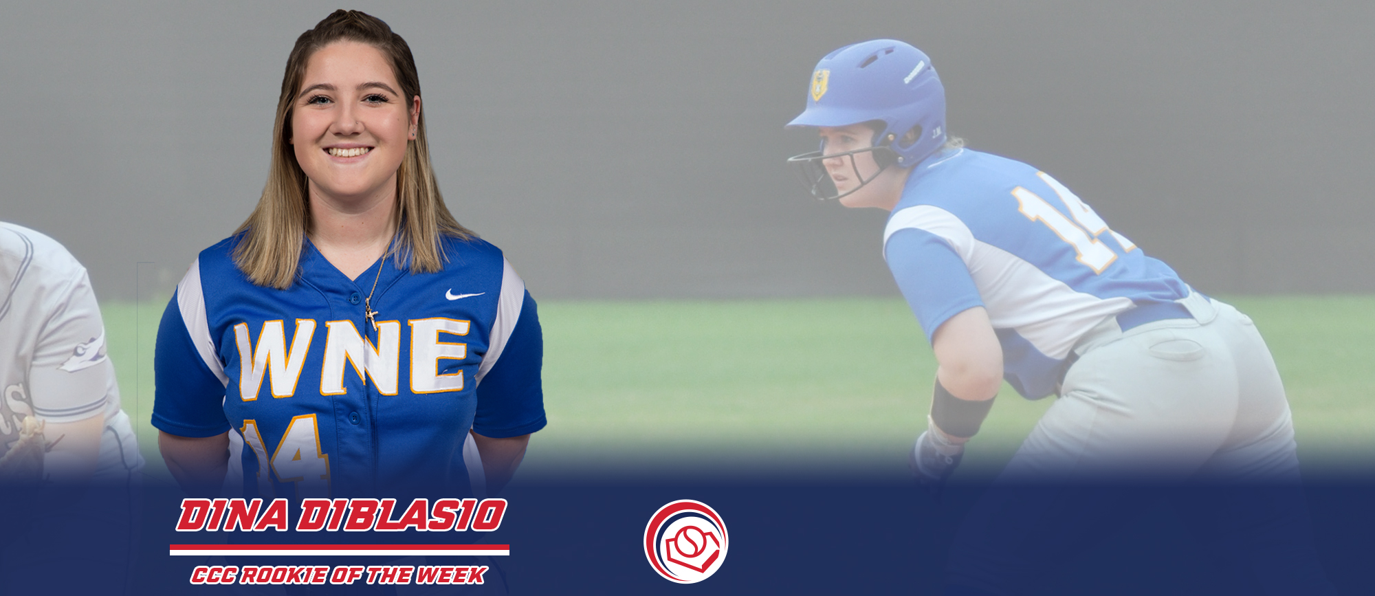 Dina DiBlasio Named CCC Rookie of the Week
