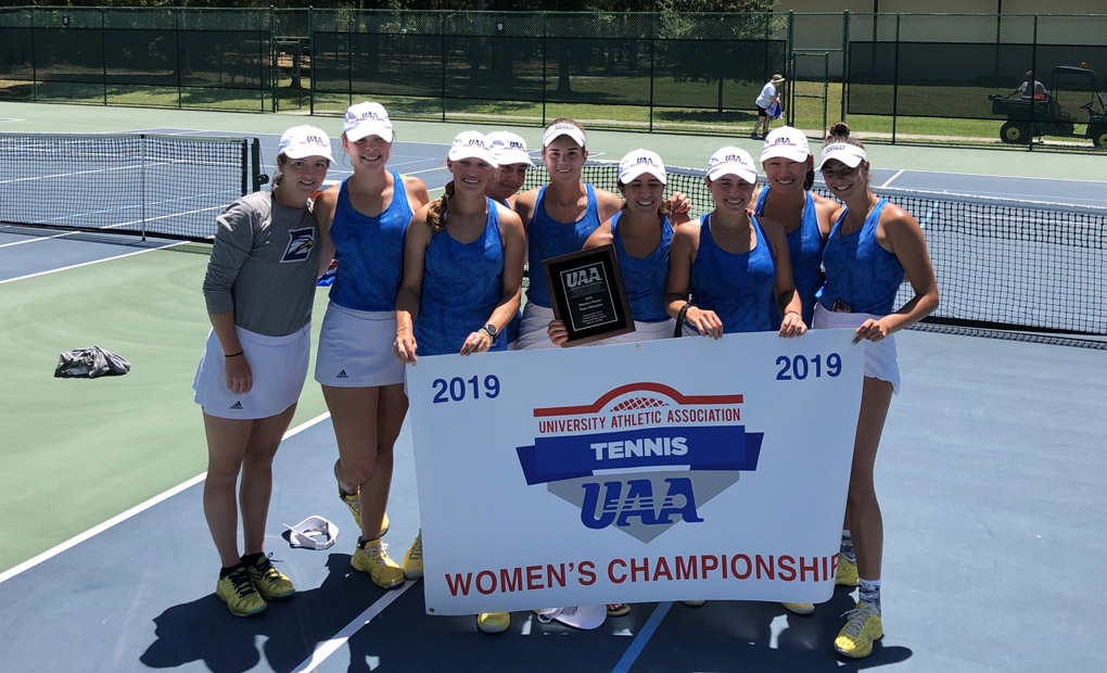 Women's Tennis Clinches Seventh Consecutive UAA Championship
