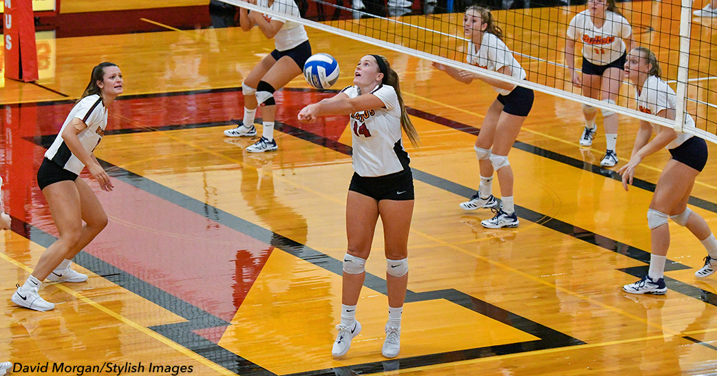 Volleyball Downed by Gettysburg in Four Sets