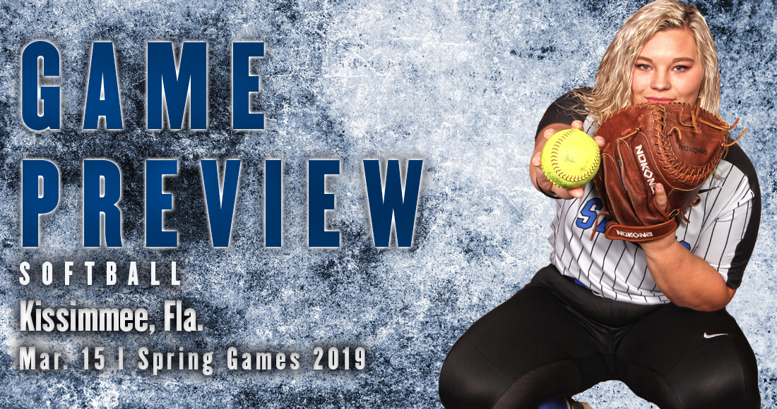 Softball Continues Spring Games on Friday Afternoon