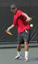 Men's Tennis Finishes Regular Season on the Road