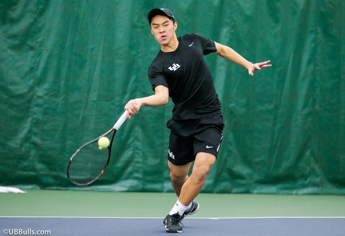 Men's Tennis Remains Undefeated In MAC Play With 6-1 Win At Binghamton