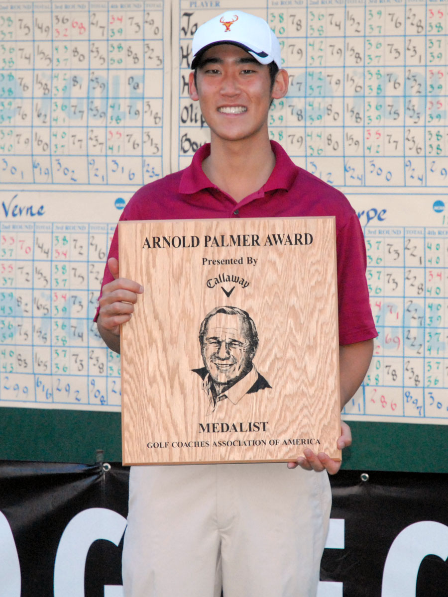 Lee Finishes Second At All-America Golf Classic