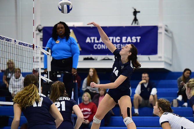 Behrend Lions Volleyball Takes La Roche in Five
