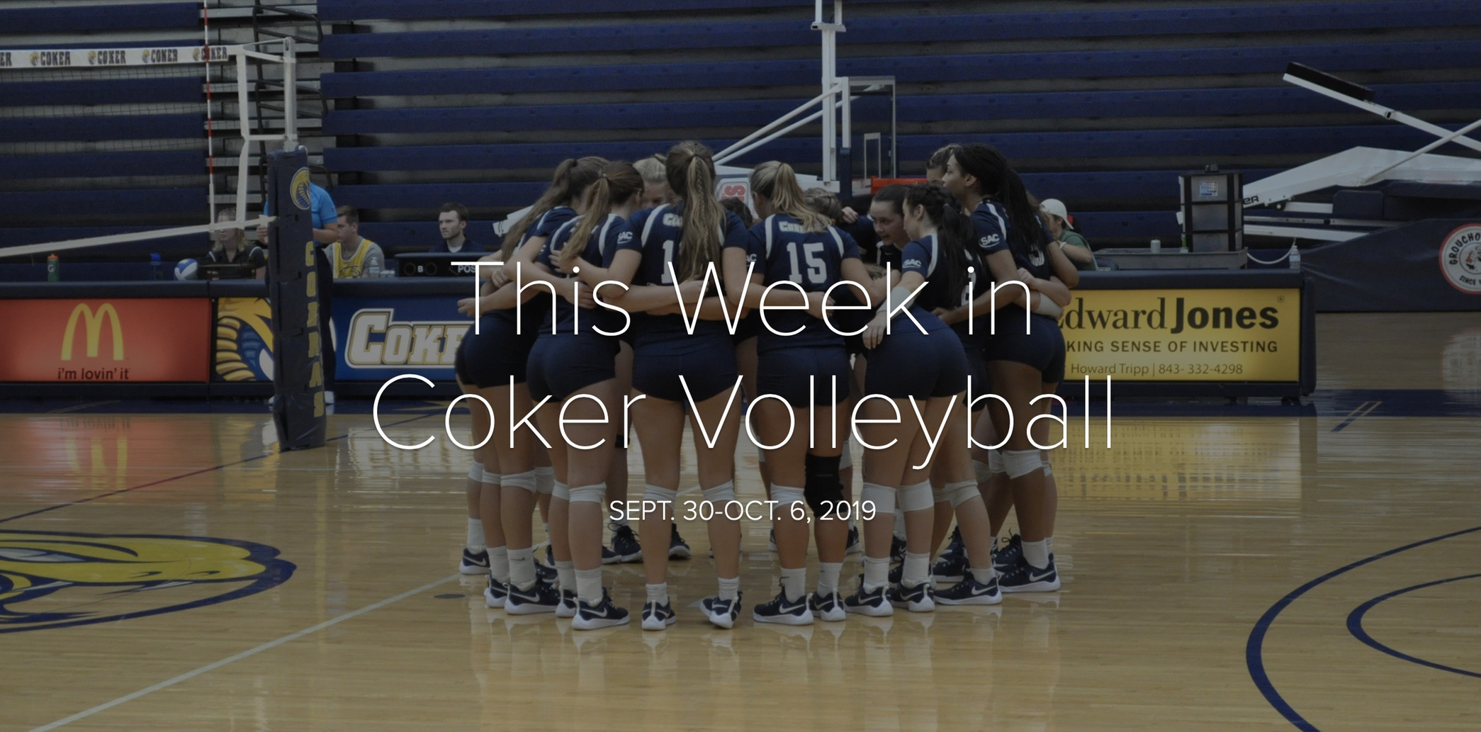 Volleyball Readies for Three Home Matches This Week