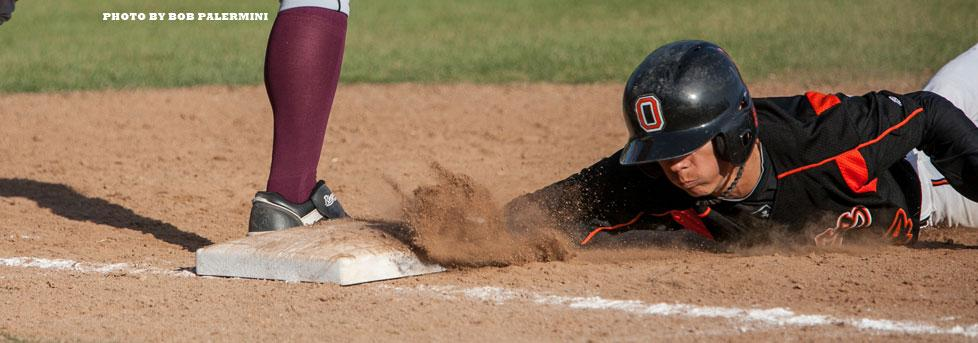 WONG STEALS HOME ON TRICK PLAY, OXY WINS AGAIN
