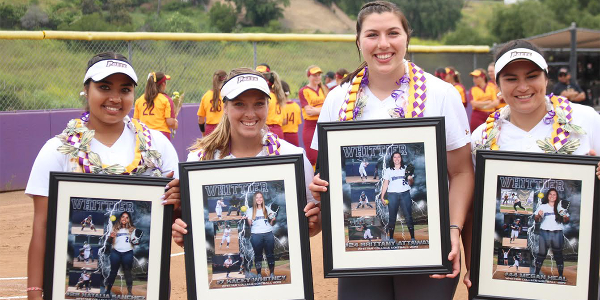 Softball Sweeps No. 11 Claremont-M-S on Senior Day