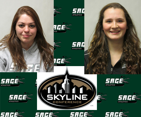 Carr and Jacot honored by Skyline Conference