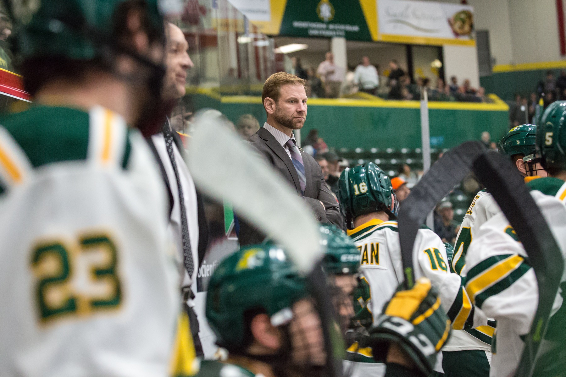 Wildcats Return to WCHA Play Against Anchorage in the Berry
