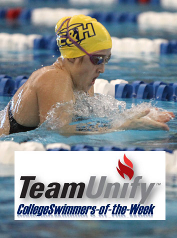 Michaela Nolte Named TeamUnify/CollegeSwimming Conference Swimmer Of The Week For The ODAC