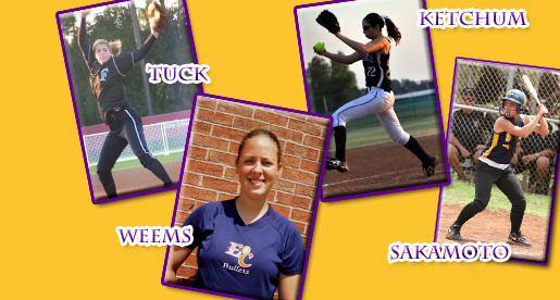 Golden Eagle softball inks four players from three time zones