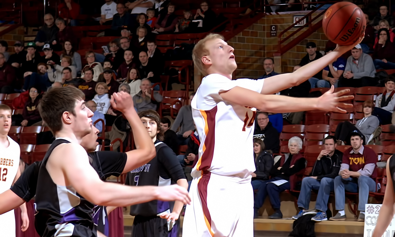Senior Corey Abbas had a career-high 12 points in the Cobbers' loss at Northwestern.
