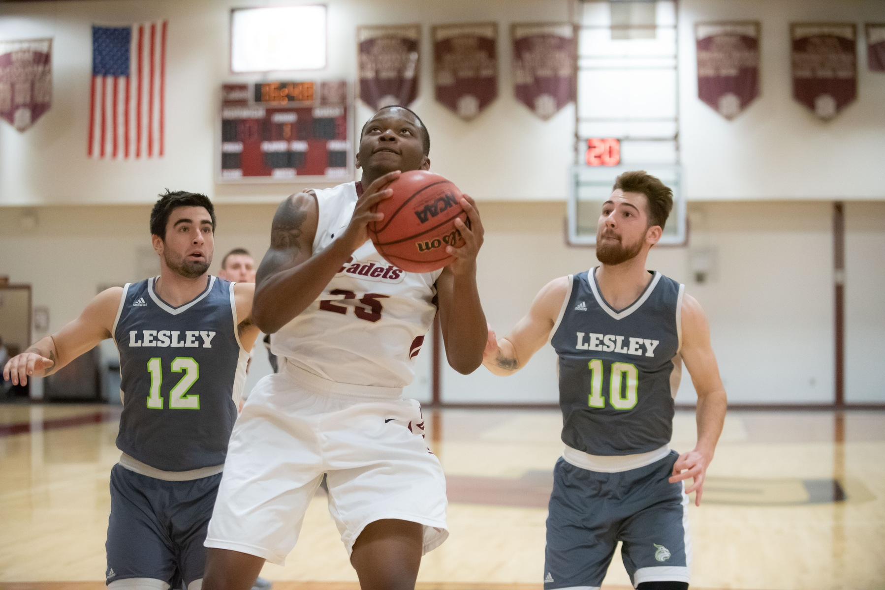 Men's Basketball: Cadets take down Raiders on the road, 91-83