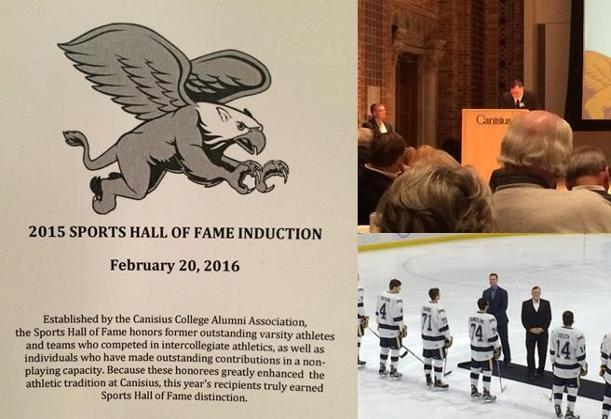 Canisius Honors D'Youville AD Brian Cavanaugh with Hall of Fame Induction