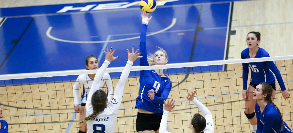 RECAP: Heat fall in four sets to No. 3 Trinity in rematch