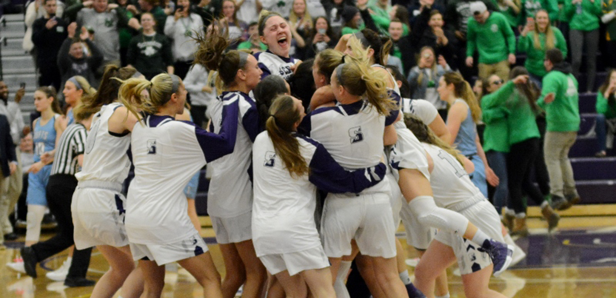 The University of Scranton women's basketball team was picked to repeat as Landmark Conference Champions for a fifth consecutive season.