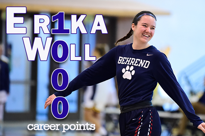 Woll Hits 1,000 Career Points; Lions Take Down Franciscan