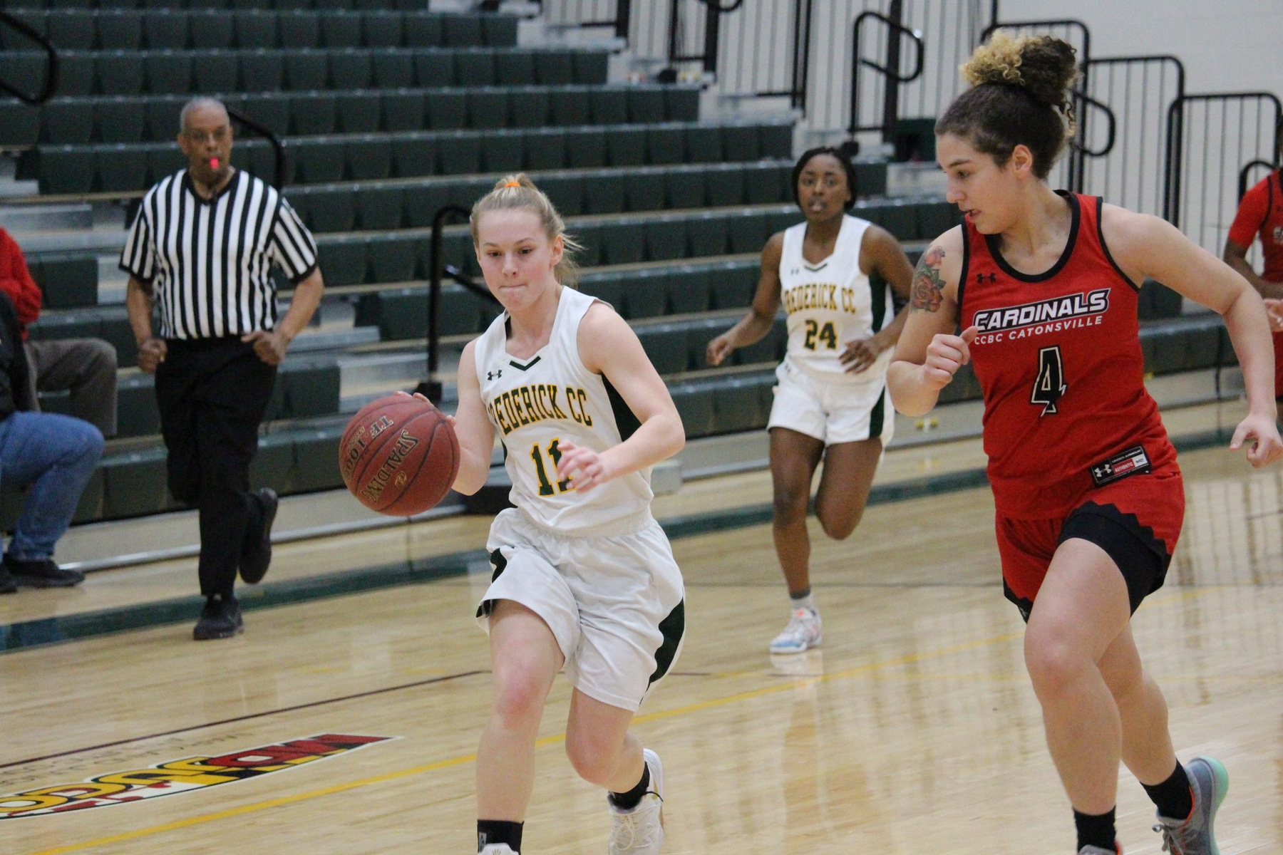 Women's basketball falls to Cardinals in afternoon matinee