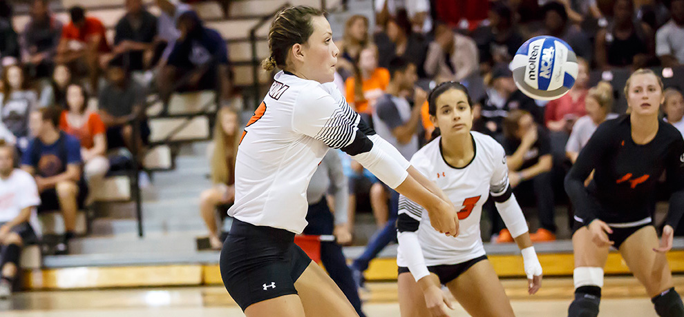 Schleuger, Pioneers sweep Newberry 3-0