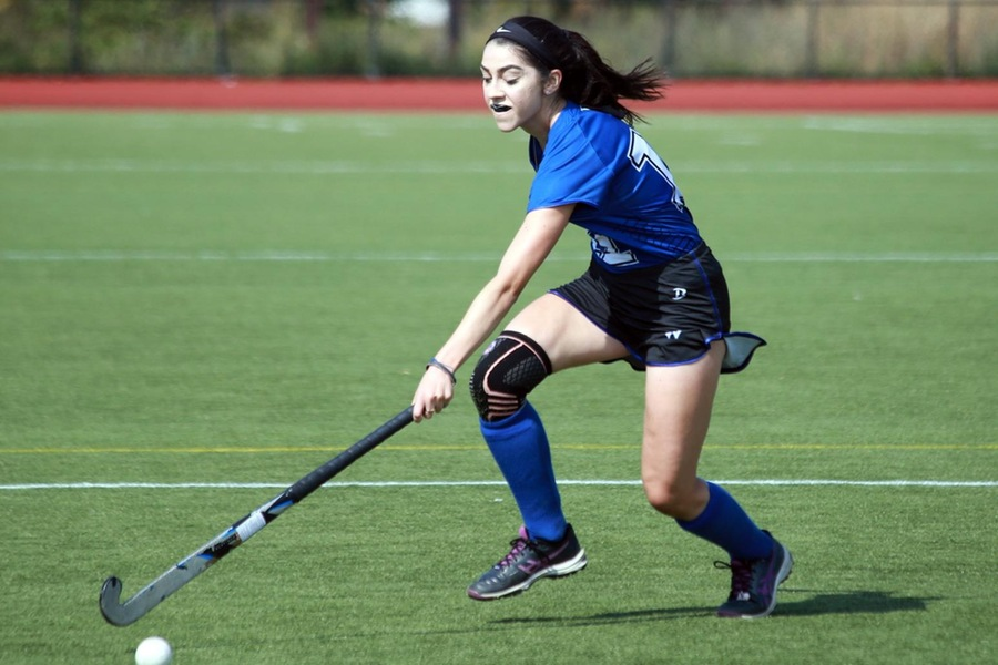Junior Arielle Mitropoulous scored her team-leading sixth goal of the season on Wednesday at Connecticut College (Lauren Luo).