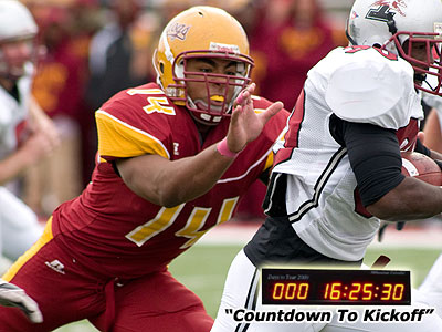 Sophomore Jordan Morgan is among FSU's returnees up front after an All-GLIAC season a year ago