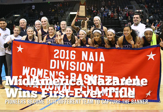 MidAmerica Nazarene Wins its First Ever National Championship