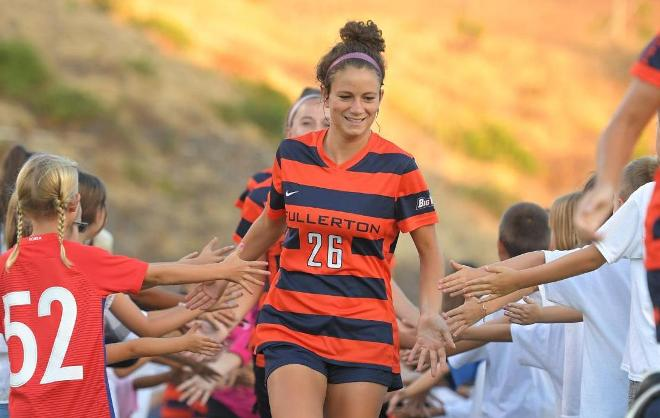 From the OC Register: Tala Haddad Takes on Bigger Role for Titans Soccer