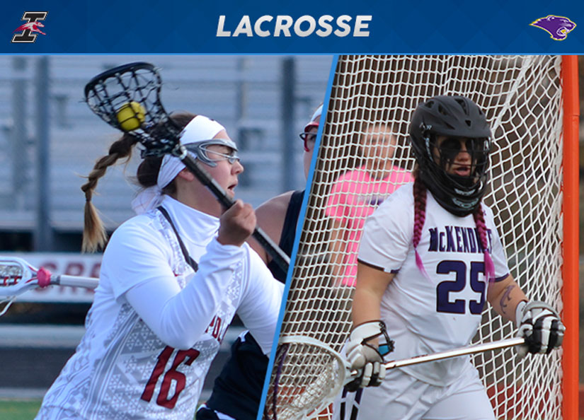 Indianapolis' Morrison, McKendree's Porta Earn GLIAC Lacrosse Weekly Honors
