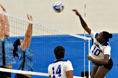 Bay Path Defeats Falcons in Women's Volleyball 3-0