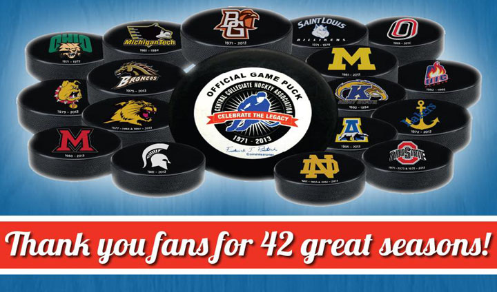 CCHA Holding Memorabilia Sale For College Hockey Fans