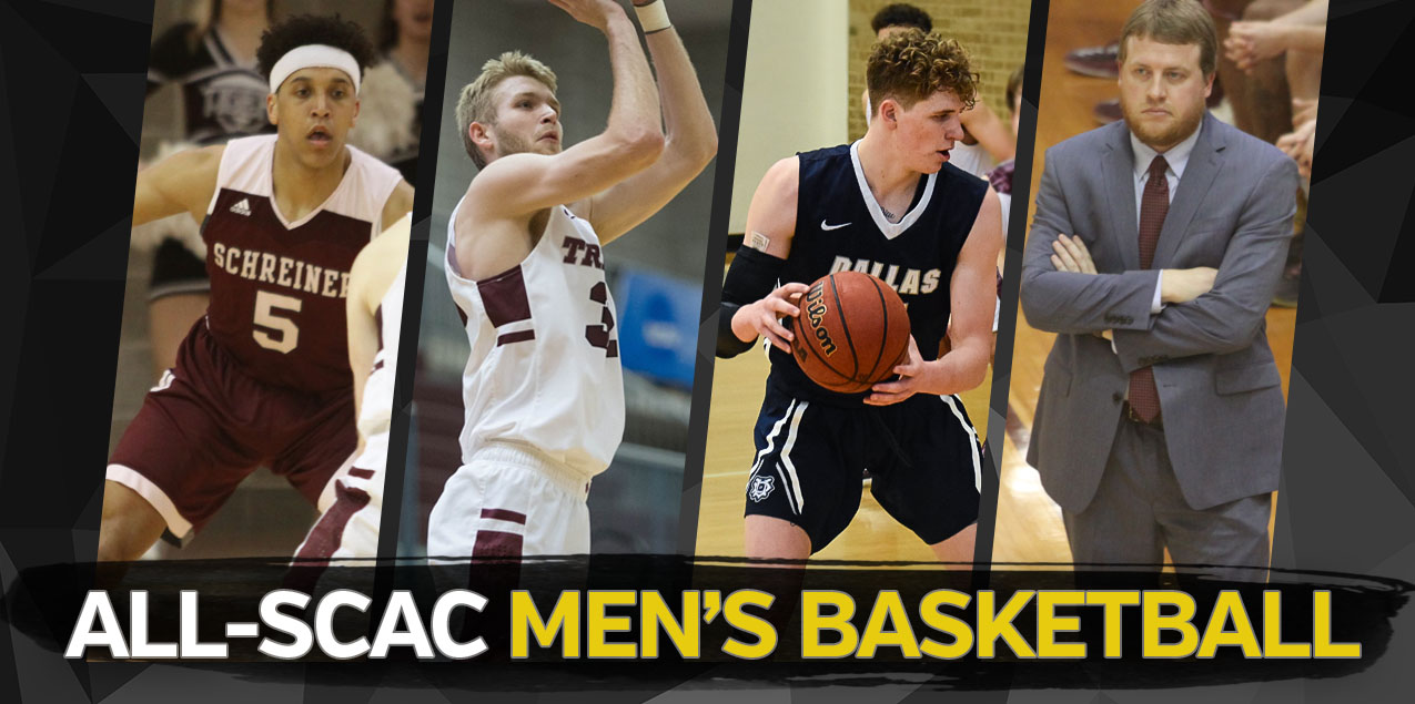 Schreiner's Gumbs and Kuykendall Highlight 2017-18 All-SCAC Men's Basketball Selections