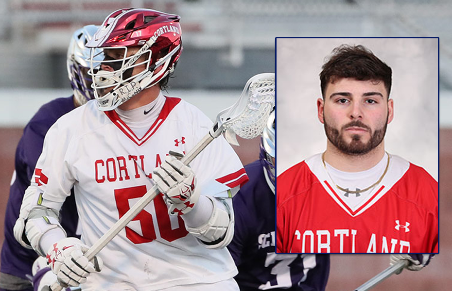 Cortland Men's Lacrosse sweeps Athlete of the Week Honors