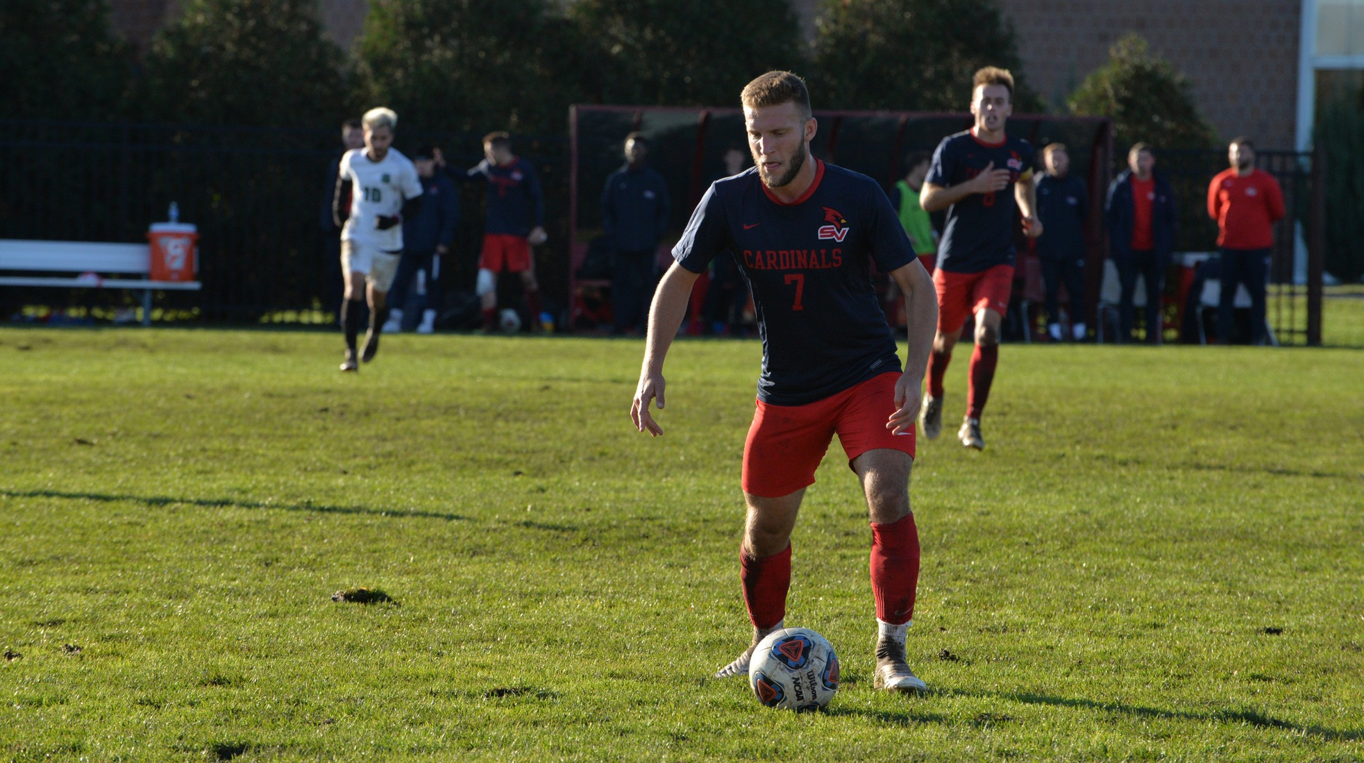 Men's Soccer Posts 4-1 Victory over First Place Parkside