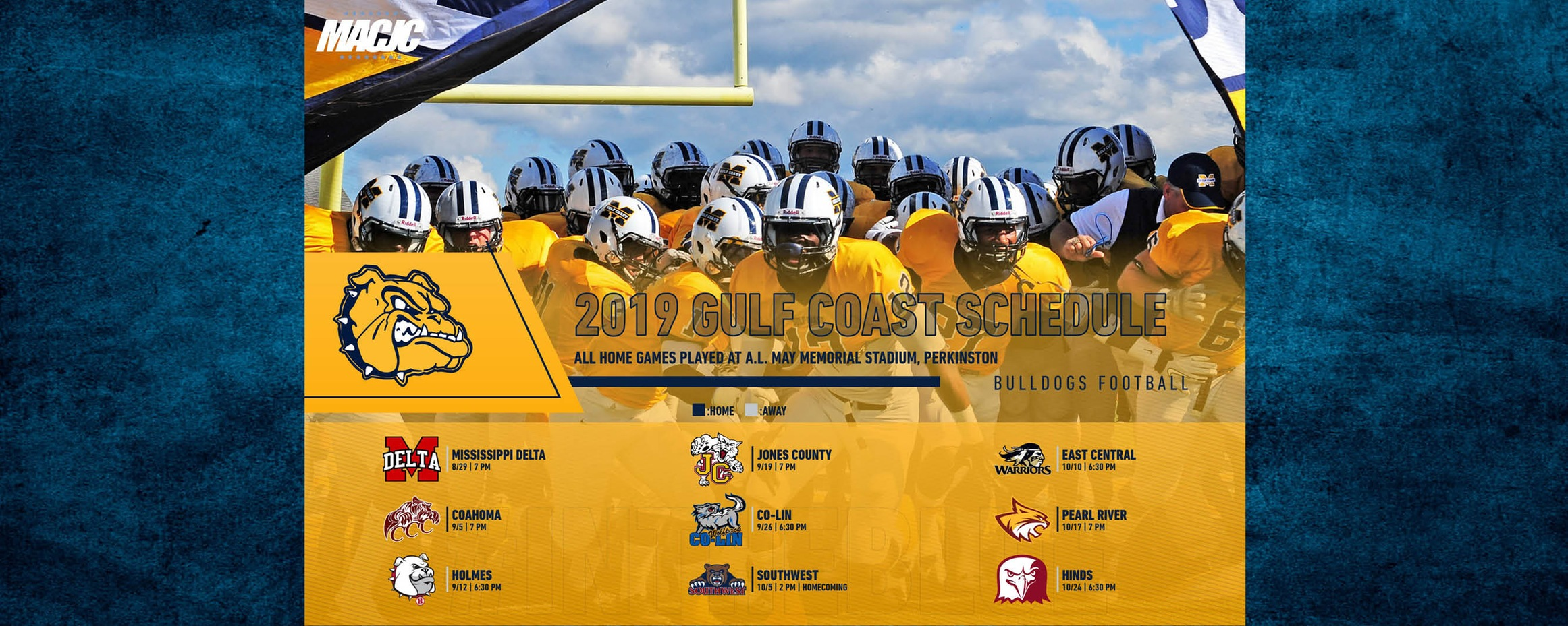 MGCCC releases football schedule