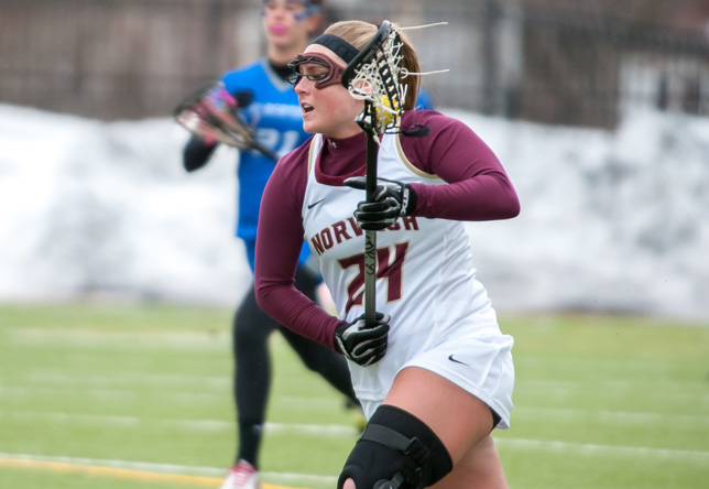 Women's Lacrosse: Raiders Run to 14-9 Win against Norwich